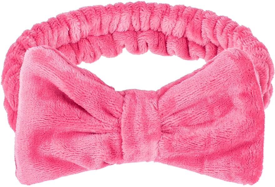 Cinta de pelo cosmética, color frambuesa - Makeup Raspberry Hair Band Wow Bow