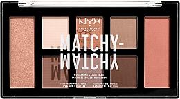 Perfumería y cosmética Paleta de maquillaje - NYX Professional Makeup Matchy Matchy Palette