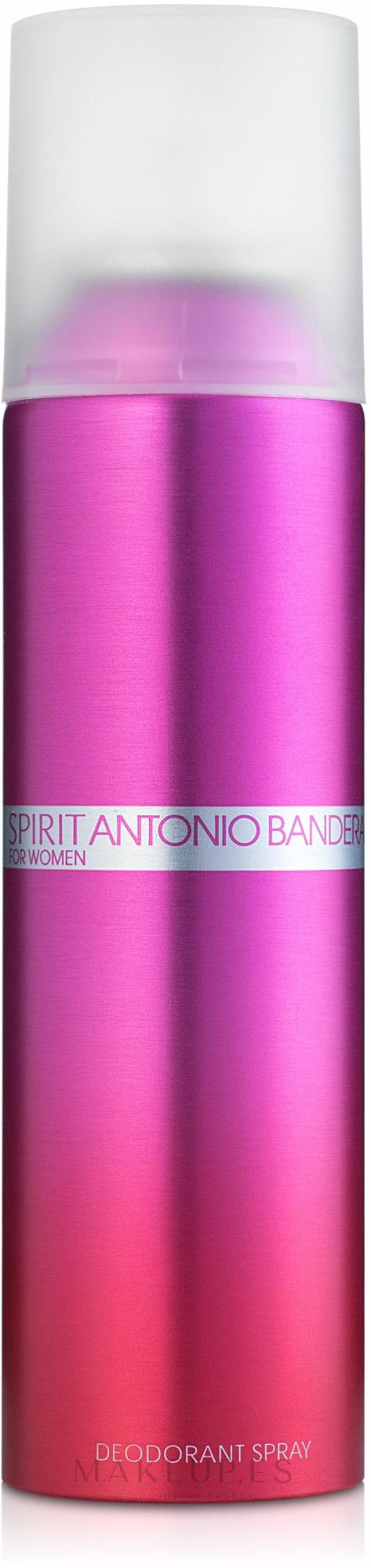Spirit Antonio Banderas for Woman - Desodorante spray — imagen 150 ml