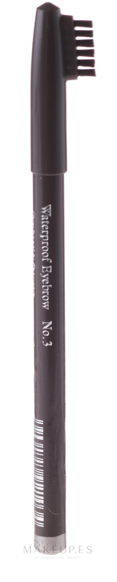 Lápiz de cejas con cepillo - Mon Ami Eyebrow Pencil  — imagen 01 - Pizarra