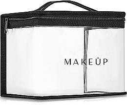 Perfumería y cosmética Bolso cosmético de silicona (17x15x15cm) - MakeUp Allvisible