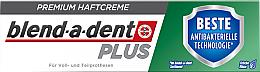 Perfumería y cosmética Crema fijadora de prótesis dentales - Blend-A-Dent Premium Adhesive Cream Plus Dual Protection Fresh