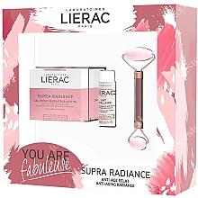 Perfumería y cosmética Set facial antiedad - Lierac Supra Radiance Set (crema/50ml + leche/30ml + masajeador/1ud.)
