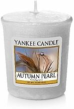 """Perfumería y cosmética Vela aromática votiva """"perla de otoño"""" - Yankee Candle Scented Votive Autumn Pearl"""