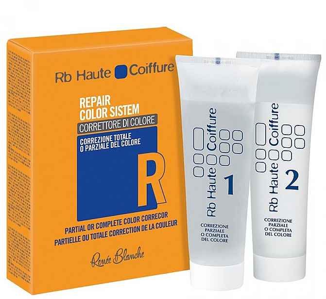 Tratamiento corrector total o parcial del color del cabello - H.Zone Rapair Color System