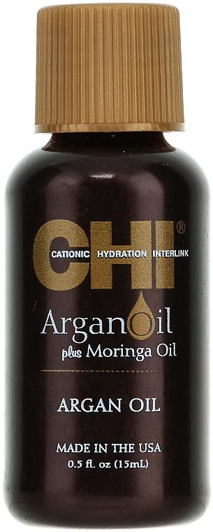 Tratamiento capilar con aceite de argán (mini) - CHI Argan Oil Plus Moringa Oil
