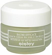 Perfumería y cosmética Bálsamo para el contorno de ojos y labios con extractos botánicos - Sisley Baume Efficace Botanical Eye and Lip Contour Balm