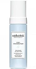 Perfumería y cosmética Espuma de limpieza facial con extracto de flor de saúco negro y aloe vera - Estelle & Thild BioCleanse 3in1 Cleansing Foam