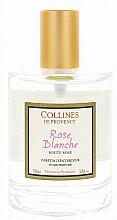 Perfumería y cosmética Ambientador en spray con aroma a rosa blanca - Collines De Provence White Rose Interior Parfum