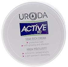 Perfumería y cosmética Crema facial protectora con extracto de ginseng y alantoína - Uroda Active 90