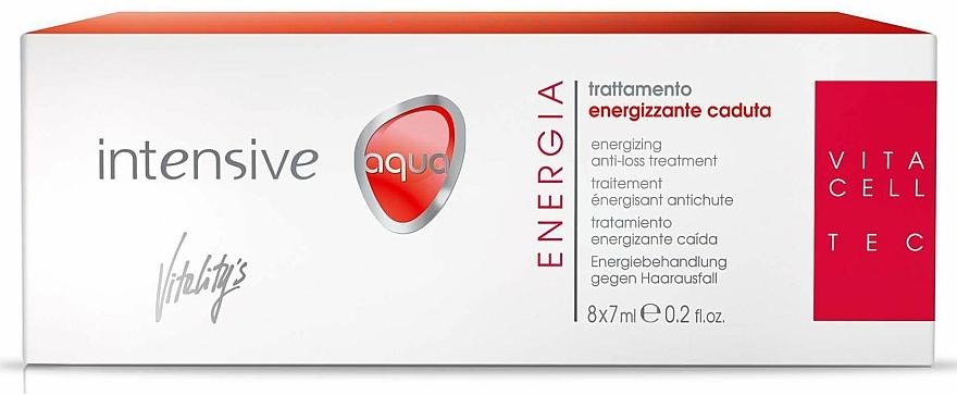 Tratamiento para caída de cabello con oligoelementos y cafeína en ampollas - Vitality's Intensive Aqua Energia Anti-Loss Treatment