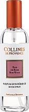 Perfumería y cosmética Ambientador en spray con aroma a palo de rosa - Collines De Provence Rose Wood Room Spray