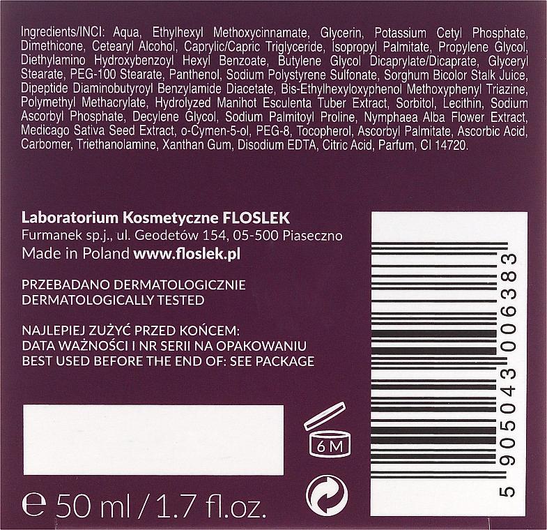 Crema facial reafirmante con retinol vegetal y extracto de medicago, SPF20 - FlosLek Skin Care Expert Snake Tension Cream — imagen N3