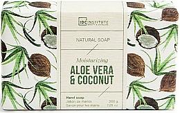 Perfumería y cosmética Jabón natural de manos hidratante con aloe vera & coco - IDC Institute Moisturizing Hand Natural Soap Aloe Vera & Coconut