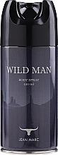 Perfumería y cosmética Jean Marc Wild Man - Desodorante