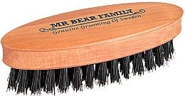 Perfumería y cosmética Cepillo para barba, formato viaje (8,3x2,7cm)  - Mr. Bear Family Beard Brush Travel Size