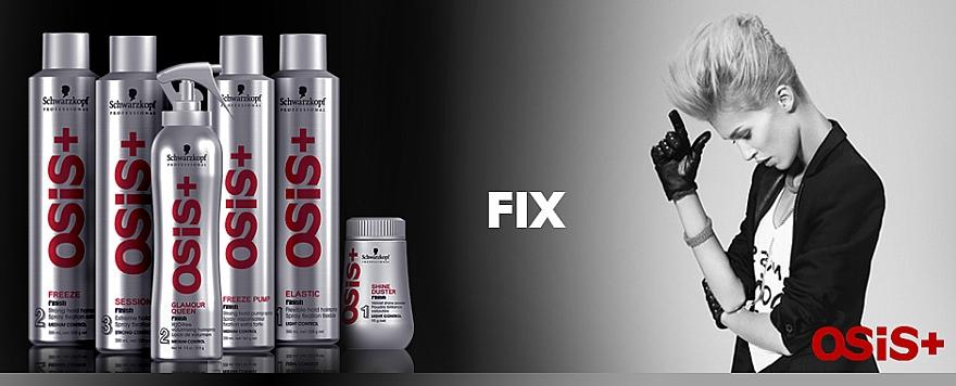 Laca para cabello de fijación extra fuerte - Schwarzkopf Professional Osis+ Session Finish Extreme Hold Hairspray — imagen N2