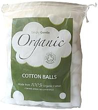 Perfumería y cosmética Bolas desmaquillantes de algodón - Simply Gentle Organic Cotton Wool Balls