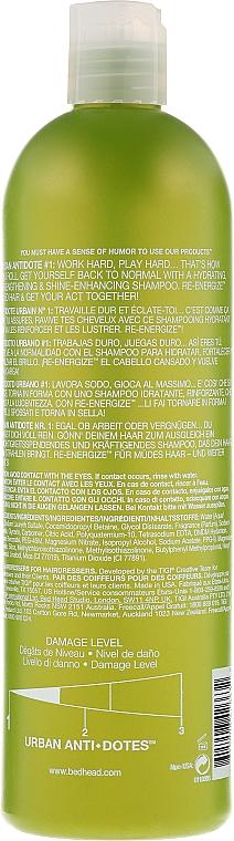 Champú revitalizante para cabello normal - Tigi Bed Head Urban Antidotes Re-energize Shampoo — imagen N4