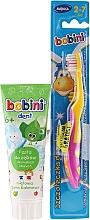 Perfumería y cosmética Bobini - Set dental infantil (cepillo dental/1ud. + pasta dental/75ml)