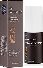 Perfumería y cosmética Crema facial con jugo de aloe y extracto de raíz de jengibre - Naturativ Men Face Cream