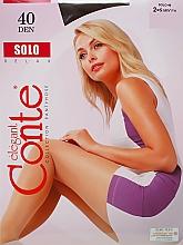 Perfumería y cosmética Pantis Solo, 40 Den, moca - Conte