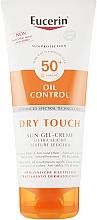 Perfumería y cosmética Gel crema de protección solar ultraligera y matificante, SPF 50 - Eucerin Oil Control Dry Touch Sun Gel-Cream SPF50+