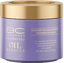 Perfumería y cosmética Mascarilla capilar reparadora con aceite de higo y queratina - Schwarzkopf Professional Bonacure Oil & Micro Keratin Mask