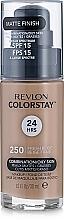 Perfumería y cosmética Base de maquillaje líquida mate de cobertura media a completa y larga duración para pieles grasas y mixtas - Revlon ColorStay for Combination/Oily Skin SPF 15