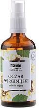 Perfumería y cosmética Agua natural de hamamelis en spray - Mohani Natural Spa Hamamelis Hydrolate