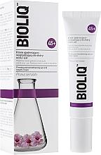 Perfumería y cosmética Crema suavizante para contorno de ojos y labios con aceite de macadamia - Bioliq 45+ Firming And Smoothening Eye And Mouth Cream
