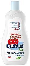 Perfumería y cosmética Gel de ducha y champú infantil - Dzidzius Fito Tomate y Pimienta