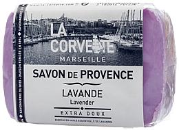 Perfumería y cosmética Jabón con aceite esencial de lavanda - La Corvette Soap