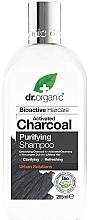 Perfumería y cosmética Champú con carbón activado - Dr. Organic Bioactive Haircare Activated Charcoal Purifying Shampoo
