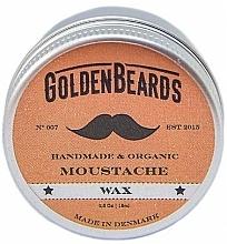 Perfumería y cosmética Cera oránica artesanal para bigote con manteca de karité - Golden Beards Moustache Wax