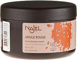 Perfumería y cosmética Arcilla facial roja de origen natural - Najel Red Clay For Healthy Glow
