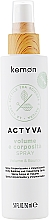 Perfumería y cosmética Spray corporizante de cabello con extracto de lino sin aclarado - Kemon Actyva Volume E Corposita Spray