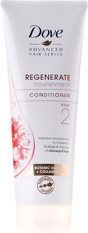 Acondicionador reparador con aceites botánicos y colágeno - Dove Advanced Hair Series