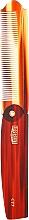 Perfumería y cosmética Peine de bolsillo - Uppercut Deluxe CT7 Tortoise Flip Comb