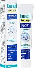 Perfumería y cosmética Gel para pieles problemáticas con iones de plata y carnosina - Deep Pharma Karnosil Acnohelp
