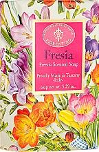Perfumería y cosmética Jabón artesanal con aroma a fresia - Saponificio Artigianale Fiorentino Masaccio Freesia Soap