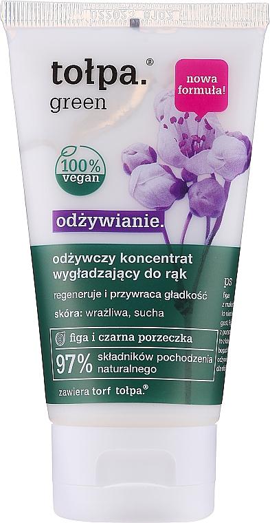 Concentrado revitalizante de manos con aceite de grosella negra y extracto de higo - Tolpa Green Nourishing Concentrate