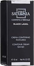 Perfumería y cosmética Crema contorno de ojos y labios - Terme Di Saturnia Black Label Contour Cream Eyes And Lips