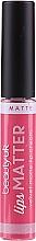Perfumería y cosmética Labial líquido con efecto mate - Beauty UK Lips Matter Velvet Matte Lip Cream