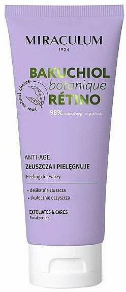 Exfoliante facial antiedad - Miraculum Bakuchiol Botanique Retino