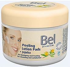 Perfumería y cosmética Discos faciales exfoliantes con aceite de jojoba - Bel Premium Peeling Lotion Jojoba Pads