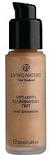 Perfumería y cosmética Base de maquillaje iluminadora - Living Nature Soft Lights Illuminating Tint