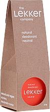 Perfumería y cosmética Desodorante crema natural con aceite de coco y manteca de karité - The Lekker Company Natural Deodorant Neutral