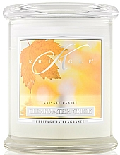 Perfumería y cosmética Vela en tarro con aromas cítricos & hierbas - Kringle Candle Clearwater Creek
