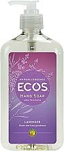 Perfumería y cosmética Jabón de manos líquido con aroma a lavanda, hipoalergénico - Earth Friendly Ecos Hand Soap Lavender Description